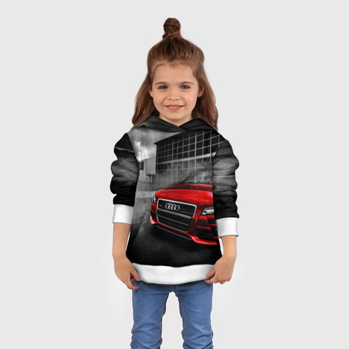 Детская толстовка 3D Audi