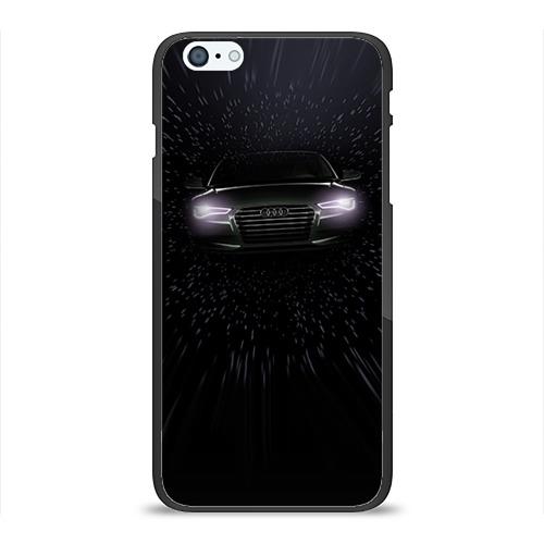 Чехол для Apple iPhone 6 Plus силиконовый глянцевый Audi от Всемайки