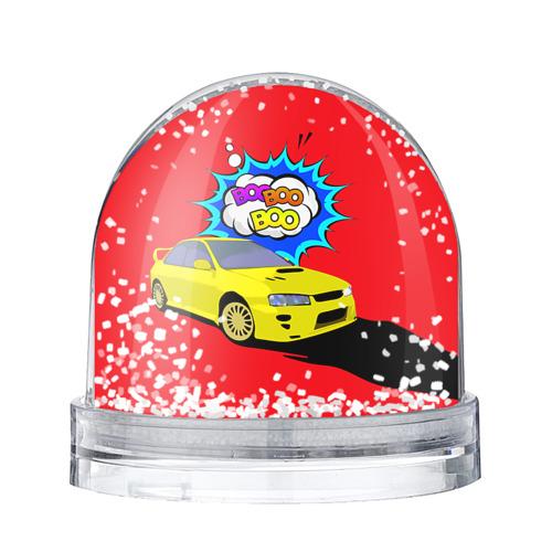 Водяной шар со снегом Subaru Impreza