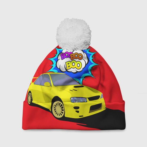 Шапка 3D c помпоном  Фото 01, Subaru Impreza