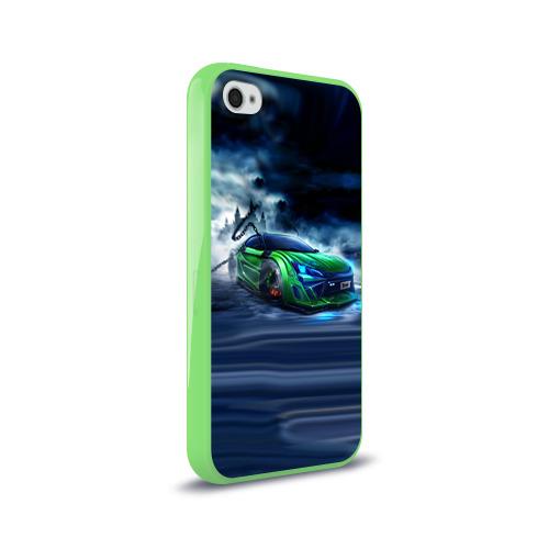 Чехол для Apple iPhone 4/4S силиконовый глянцевый  Фото 02, Toyota FT-86