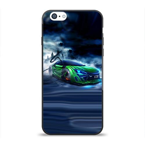 Чехол для Apple iPhone 6 силиконовый глянцевый Toyota FT-86 от Всемайки