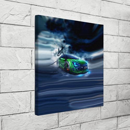 Холст квадратный  Фото 03, Toyota FT-86