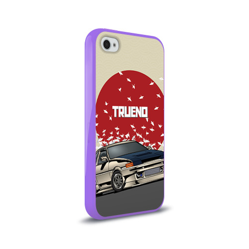 Чехол для Apple iPhone 4/4S силиконовый глянцевый  Фото 02, Toyota Trueno ae86