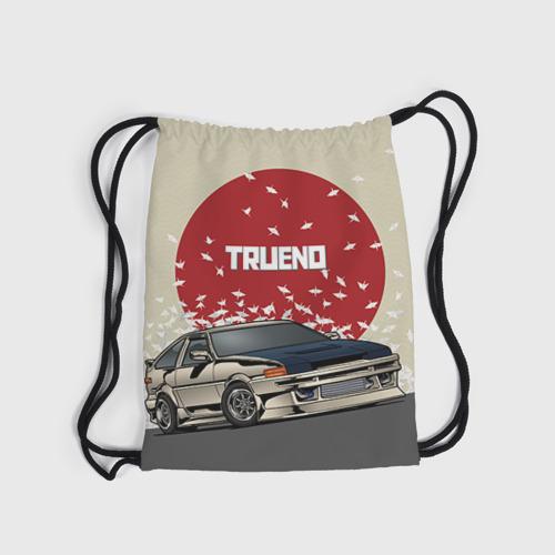 Рюкзак-мешок 3D Toyota Trueno ae86 Фото 01