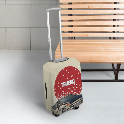 Чехол для чемодана 3D Toyota Trueno ae86 Фото 01