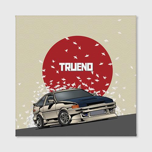 Холст квадратный  Фото 02, Toyota Trueno ae86