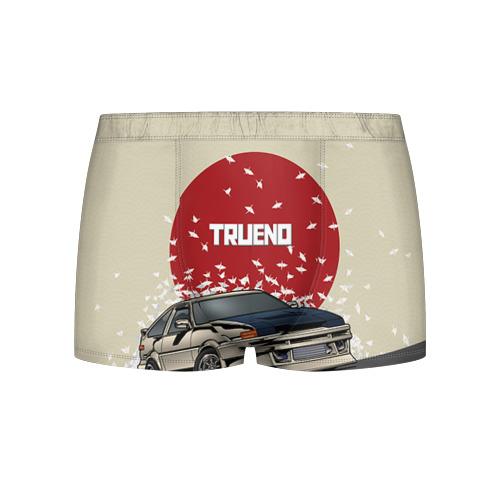 Мужские трусы 3D Toyota Trueno ae86 Фото 01