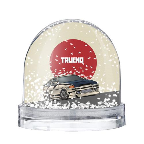Водяной шар со снегом Toyota Trueno ae86