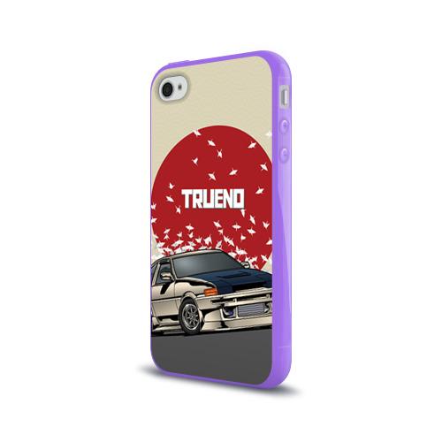 Чехол для Apple iPhone 4/4S силиконовый глянцевый  Фото 03, Toyota Trueno ae86