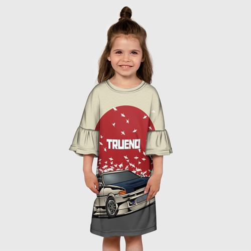 Детское платье 3D  Фото 01, Toyota Trueno ae86