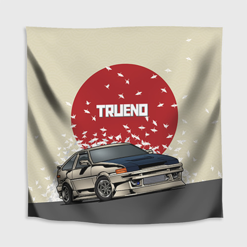 Скатерть 3D  Фото 02, Toyota Trueno ae86