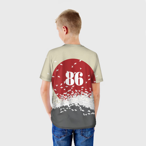 Детская футболка 3D  Фото 02, Toyota Trueno ae86