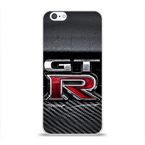 Чехол для Apple iPhone 6 силиконовый глянцевый  Фото 01, Nissan GTR