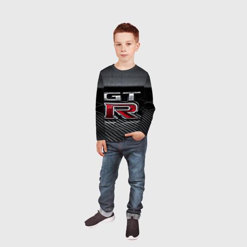 Детский лонгслив 3D  Фото 05, Nissan GTR