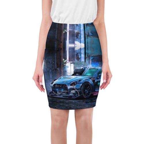 Юбка 3D Nissan GTR R35