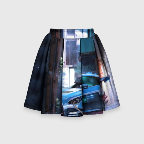 Детская юбка-солнце 3D Nissan GTR R35