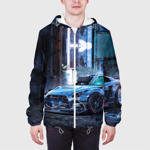 Мужская куртка 3D  Фото 04, Nissan GTR R35