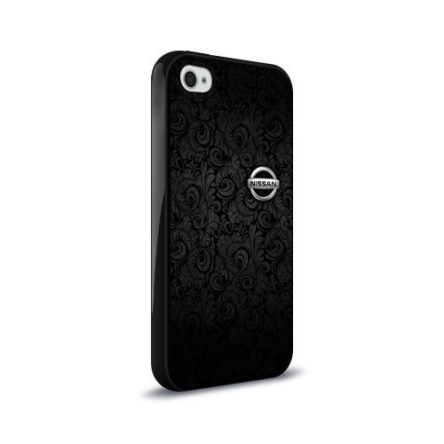 Чехол для Apple iPhone 4/4S силиконовый глянцевый  Фото 02, Nissan