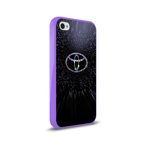 Чехол для Apple iPhone 4/4S силиконовый глянцевый  Фото 02, Toyota