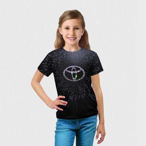 Детская футболка 3D  Фото 03, Toyota