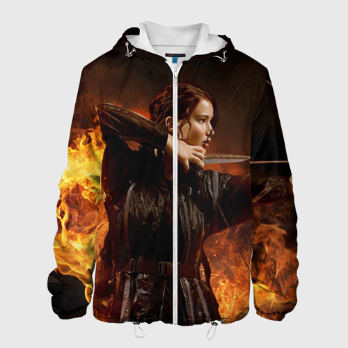 Мужская куртка 3D  Фото 01, Голодные  Игры