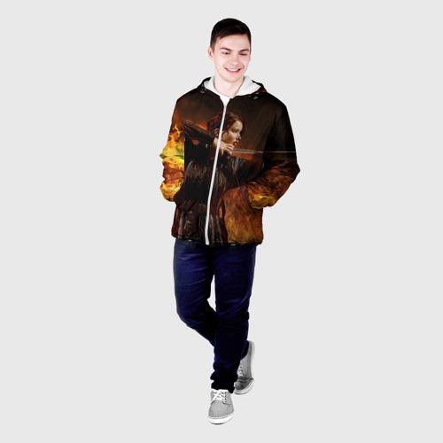 Мужская куртка 3D  Фото 03, Голодные  Игры