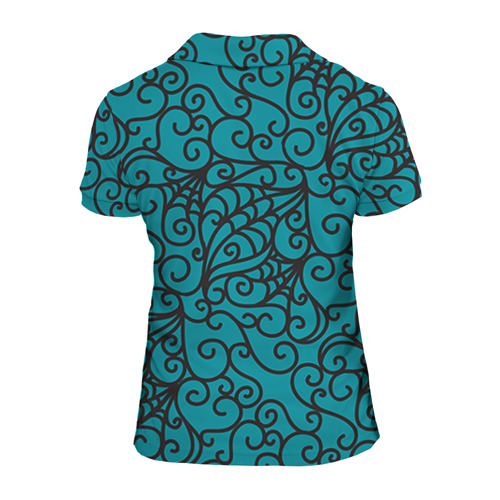 Женская рубашка поло 3D  Фото 02, Сlawdeen wolf