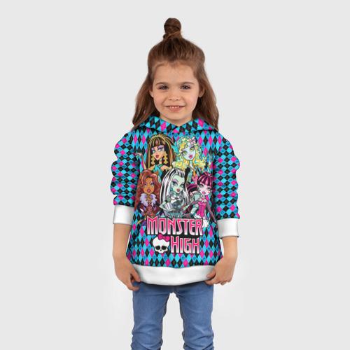 Детская толстовка 3D  Фото 01, Monster High