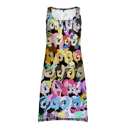 Платье-майка 3D My Little Pony