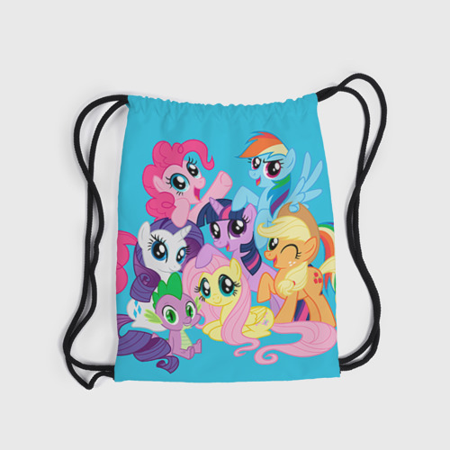 Рюкзак-мешок 3D  Фото 04, My Little Pony