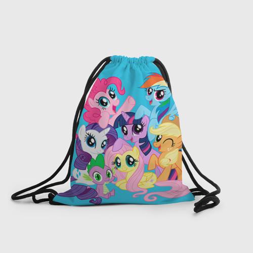 Рюкзак-мешок 3D  Фото 01, My Little Pony