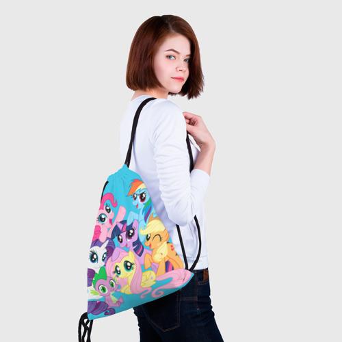 Рюкзак-мешок 3D  Фото 02, My Little Pony