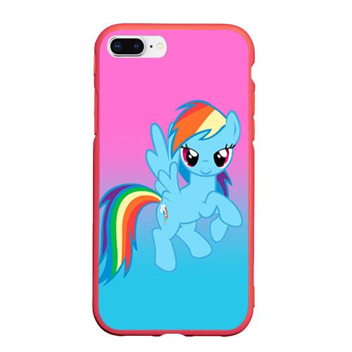 Чехол для iPhone 7Plus/8 Plus матовый My Little Pony Фото 01