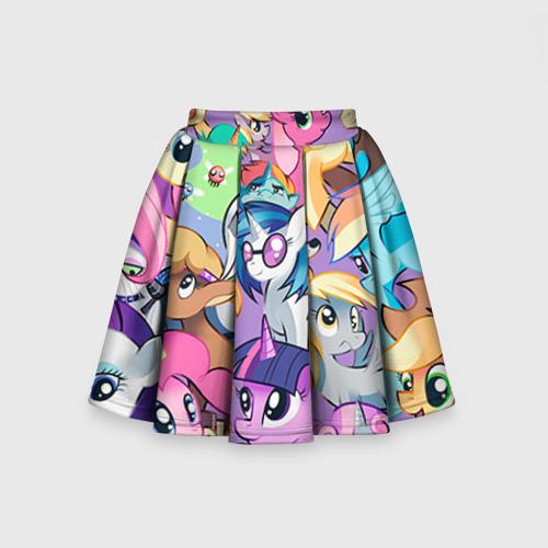 Детская юбка-солнце 3D My Little Pony Фото 01