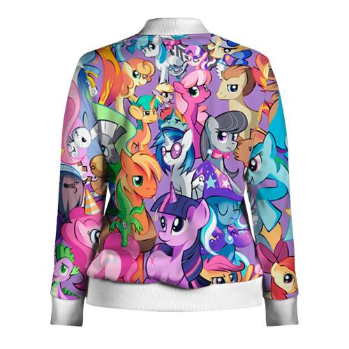 Женская олимпийка 3D  Фото 02, My Little Pony
