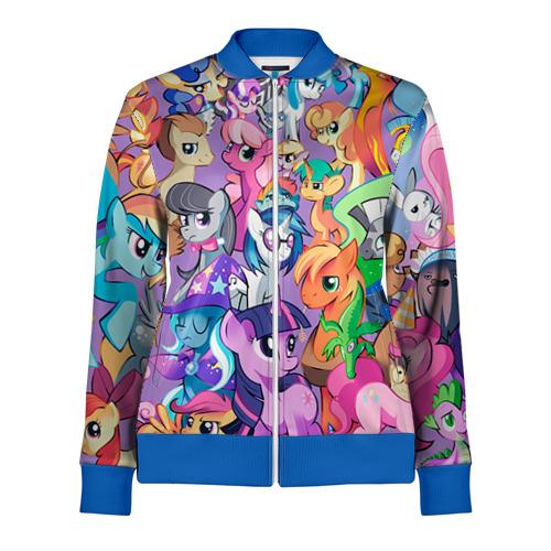 Женская олимпийка 3D My Little Pony