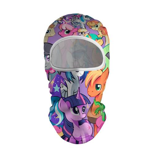 Балаклава 3D My Little Pony