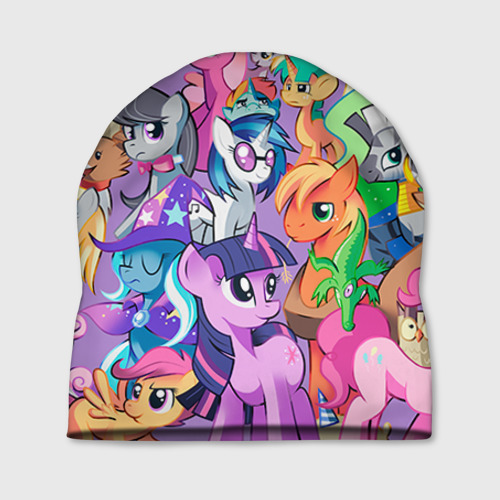 Шапка 3D My Little Pony