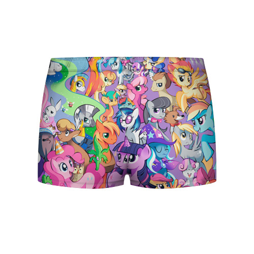 Мужские трусы 3D My Little Pony Фото 01