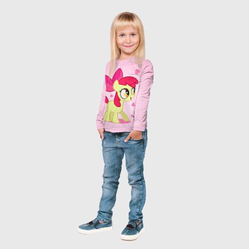 Детский лонгслив 3D  Фото 04, My Little Pony