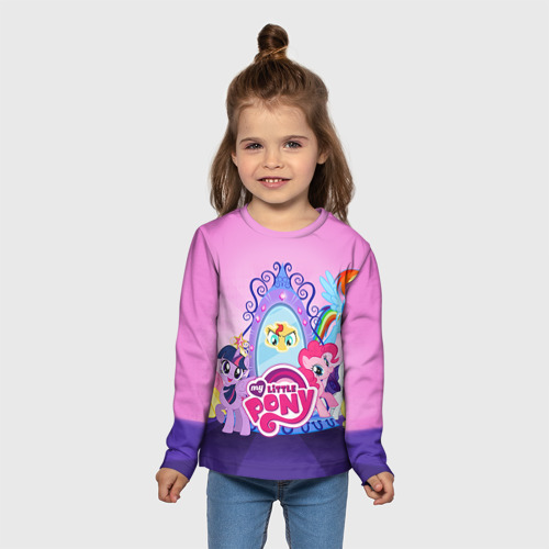 Детский лонгслив 3D My Little Pony Фото 01
