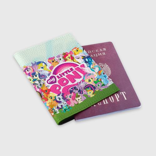 Обложка для паспорта матовая кожа  Фото 03, My Little Pony