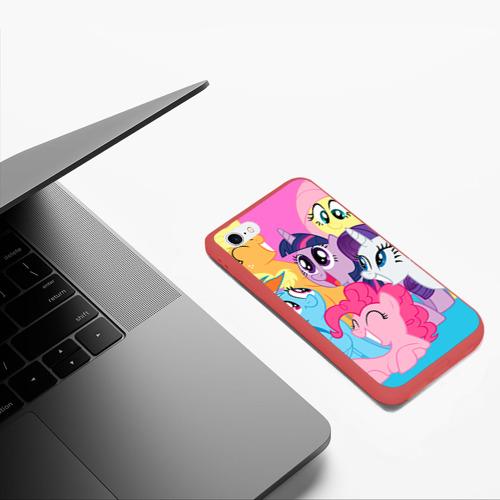 Чехол для iPhone 6/6S матовый My Little Pony Фото 01