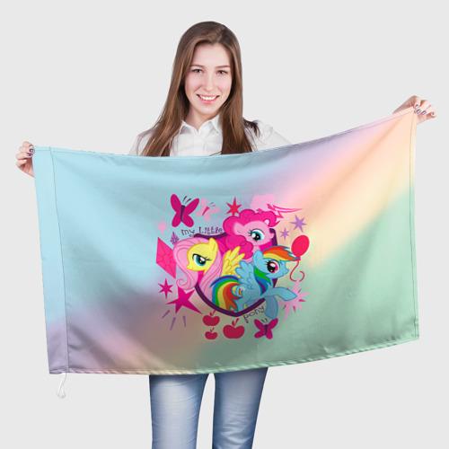 Флаг 3D  Фото 01, My Little Pony