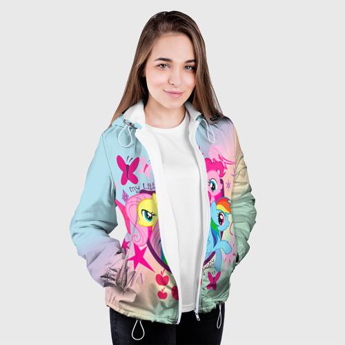 Женская куртка 3D  Фото 04, My Little Pony