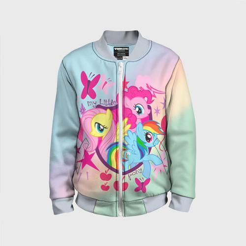 Детский бомбер 3D My Little Pony