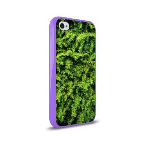 Чехол для Apple iPhone 4/4S силиконовый глянцевый  Фото 02, Я ёлка