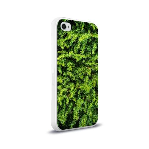 Чехол для Apple iPhone 4/4S силиконовый глянцевый Я ёлка