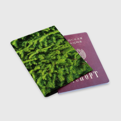 Обложка для паспорта матовая кожа  Фото 03, Я ёлка